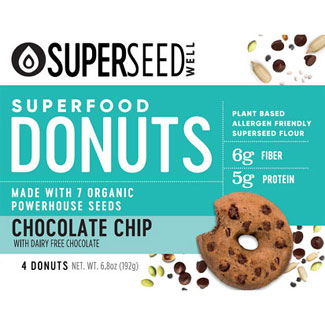 Chocolate Chip Superfood Donuts by Superseed Well MAIN
