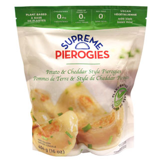 Supreme Pierogies - Potato & Plant-Based Cheddar Style MAIN