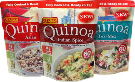 Suzie's Ready-To-Eat Quinoa Meals