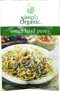 Sweet Basil Pesto Mix by Simply Organic