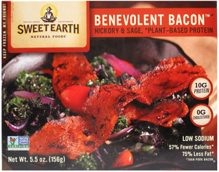 Benevolent Bacon Hickory & Sage Smoked Seitan Bacon by Sweet Earth