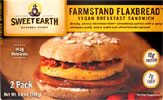 Farmstand Flaxbread Vegan Breakfast Sandwich by Sweet Earth