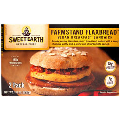 Farmstand Flaxbread Breakfast Sandwich by Sweet Earth THUMBNAIL