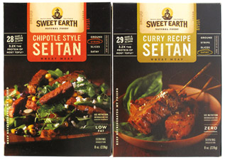 Seitan By Sweet Earth Natural Foods Veganessentials