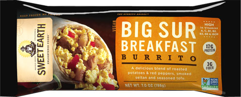Big Sur Breakfast Burrito by Sweet Earth LARGE