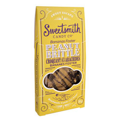 Bananas Foster Peanut Brittle by Sweetsmith Candy Co. THUMBNAIL