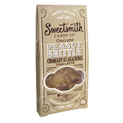 Chai Latté  Vegan Peanut Brittle by Sweetsmith Candy Co. THUMBNAIL