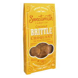 Vegan Coconut Brittle by Sweetsmith Candy Co. THUMBNAIL