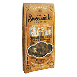 Canadian Maple Vegan Peanut Brittle by Sweetsmith Candy Co. THUMBNAIL