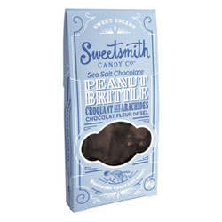 Sea Salt Chocolate Peanut Brittle by Sweetsmith Candy Co. THUMBNAIL