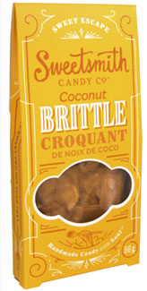 Vegan Coconut Brittle by Sweetsmith Candy Co.