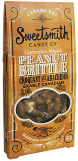 Canadian Maple Vegan Peanut Brittle by Sweetsmith Candy Co._LARGE
