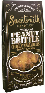 Traditional Vegan Peanut Brittle by Sweetsmith Candy Co. LARGE