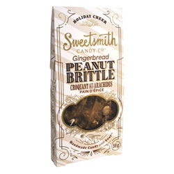 Gingerbread Vegan Peanut Brittle by Sweetsmith Candy Co. THUMBNAIL