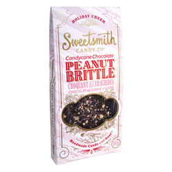 Candy Cane Chocolate Peanut Brittle by Sweetsmith Candy Co. THUMBNAIL