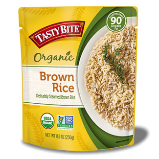 Tasty Bite Organic Brown Rice MAIN