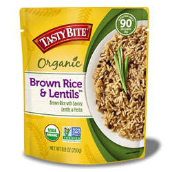 Tasty Bite Organic Brown Rice & Lentils THUMBNAIL