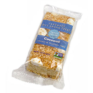 Coconut Rice Krispie Treats by Treat House LARGE
