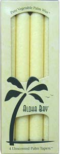 Vegetable Wax Taper Candles by Aloha Bay