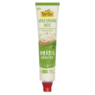 Tartex Organic Pate Squeeze Tube - Herb LARGE