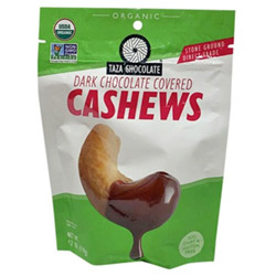 Taza Chocolate Organic Chocolate Covered Cashews THUMBNAIL