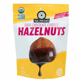 Taza Chocolate Organic Chocolate Covered Hazelnuts MAIN