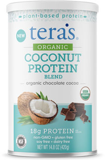 Tera's Organic Coconut Protein Blend - Chocolate_MAIN