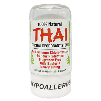 Thai Crystal Deodorant Stone - 4.25 oz. LARGE