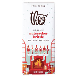 Theo Organic Nutcracker Brittle Dark Chocolate Bar THUMBNAIL