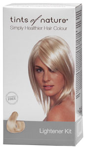 Natural Permanent Hair Lightener by Tints of Nature for Medium Brown to Blonde Hair_LARGE