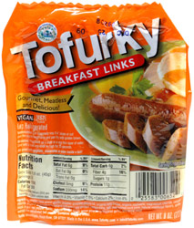 Tofurky Vegan Breakfast Sausage Links