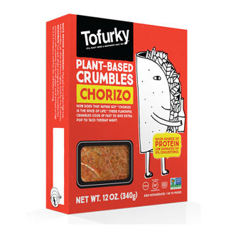 Tofurky Plant-Based Chorizo Crumbless LARGE