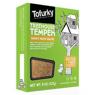 Tofurky Smoky Maple Bacon Flavored Tempeh MAIN
