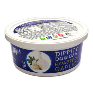 Dippity Doo Dah Roasted Garlic Dip by Tofutti MAIN