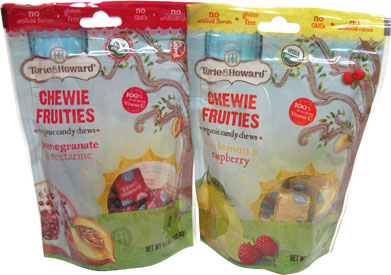 Chewie Fruities Organic Candy Chews by Torie & Howard