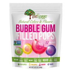 Tree Hugger Gum Filled Lollipops THUMBNAIL