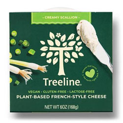 Treeline Plant-Based French-Style Cheese - Creamy Scallion THUMBNAIL