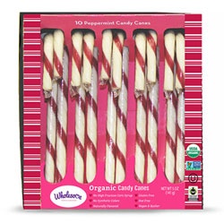 Organic Candy Canes by Wholesome THUMBNAIL