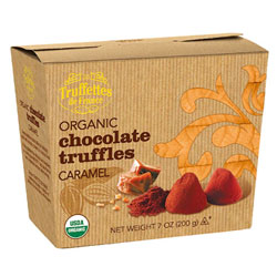 Organic Chocolate Truffles by Truffettes de France - Caramel flavor THUMBNAIL