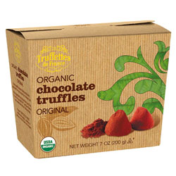 Organic Chocolate Truffles by Truffettes de France - Original flavor THUMBNAIL