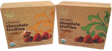 Organic Chocolate Truffles by Truffettes de France