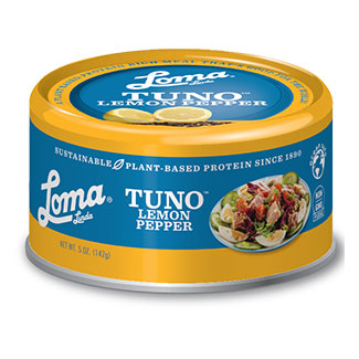 Can of Lemon Pepper Tuno by Loma Linda Blue MAIN