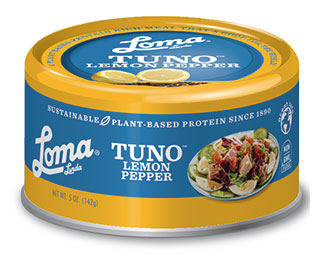 Tuno with Lemon Pepper by Loma Linda Blue