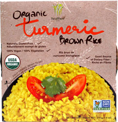 Organic Turmeric Brown Rice by Healthee