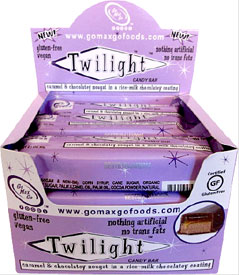 Twilight Vegan Candy Bar by Go Max Go Foods - Box of 12 bars