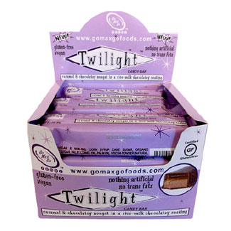 Twilight Vegan Candy Bar by Go Max Go Foods - Box of 12 bars MAIN