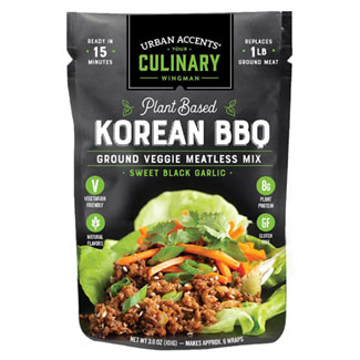 Urban Accents Korean BBQ Ground Meatless Mix MAIN