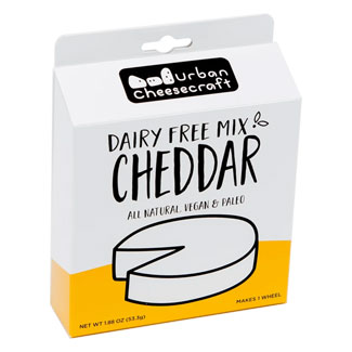 Cheddar Cheese Wheel Mix by Urban Cheesecraft LARGE