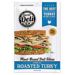 Roasted Turk'y Plant-Based Deli Slices by Unreal Deli THUMBNAIL