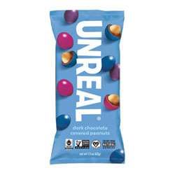 Unreal Dark Chocolate Peanut Gems - 1.5 oz. Snack Pack THUMBNAIL